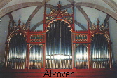 Die West-Orgel in Alkoven